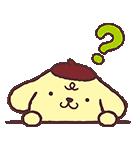 ポムポムプリン飛び出すポップアップ☆(個別スタンプ:6)