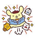ポムポムプリン飛び出すポップアップ☆(個別スタンプ:9)