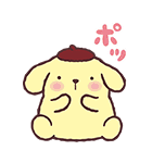 ポムポムプリン飛び出すポップアップ☆(個別スタンプ:12)