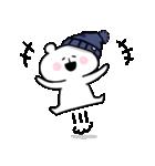 帽子ろくま(個別スタンプ:03)