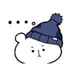 帽子ろくま(個別スタンプ:16)