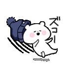 帽子ろくま(個別スタンプ:17)