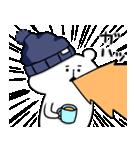 帽子ろくま(個別スタンプ:25)