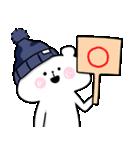 帽子ろくま(個別スタンプ:34)