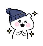 帽子ろくま(個別スタンプ:37)