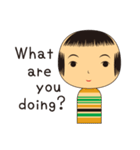こけしちゃんすたんぷ(個別スタンプ:25)