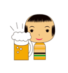 こけしちゃんすたんぷ(個別スタンプ:30)