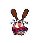 野球チームと応援団 5【広島弁編】(個別スタンプ:16)