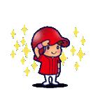 野球チームと応援団 5【広島弁編】(個別スタンプ:24)