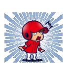 野球チームと応援団 5【広島弁編】(個別スタンプ:32)