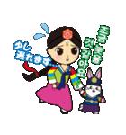 オルちゃん&トッキ【ハングル日常会話】(個別スタンプ:03)