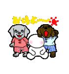 愉快な大型犬軍団(個別スタンプ:02)