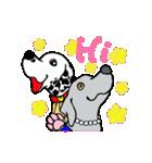 愉快な大型犬軍団(個別スタンプ:04)