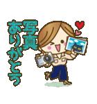 【秋〜冬】大人女子♥丁寧言葉&イベント(個別スタンプ:8)