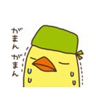 バンダナヒヨコ(ビジネス編)(個別スタンプ:21)