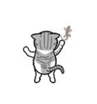 Little cotton candy cat(個別スタンプ:24)