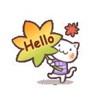 秋猫・詰め合わせ(個別スタンプ:3)