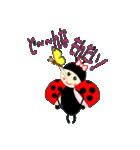 てんとう虫のララちゃんとお友達(個別スタンプ:23)