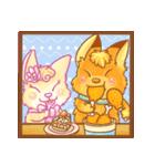 キツネちゃん★キャラメルとスフレ(個別スタンプ:39)