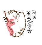 あやふやすぎるネコ(個別スタンプ:05)