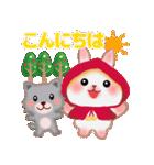 森の赤ずきん☆うさっぴ2(個別スタンプ:02)