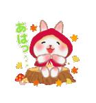 森の赤ずきん☆うさっぴ2(個別スタンプ:30)