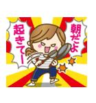 【日常&ツッコミ♥♥】ゆるカジ女子(個別スタンプ:03)