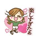 【日常&ツッコミ♥♥】ゆるカジ女子(個別スタンプ:21)