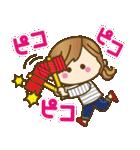 【日常&ツッコミ♥♥】ゆるカジ女子(個別スタンプ:29)