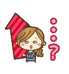 【日常&ツッコミ♥♥】ゆるカジ女子(個別スタンプ:35)