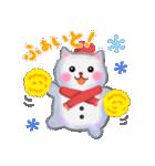 雪だるまネコさん 2(個別スタンプ:11)