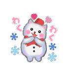 雪だるまネコさん 2(個別スタンプ:22)