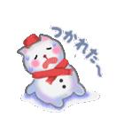 雪だるまネコさん 2(個別スタンプ:30)