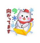 雪だるまネコさん 2(個別スタンプ:31)