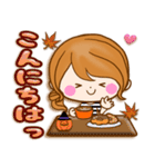 おとなカノジョ2★実用的!大人可愛い秋冬(個別スタンプ:03)