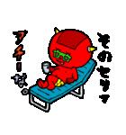 テキトー過ぎる赤鬼くん 2 by マメズ(個別スタンプ:27)