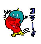 テキトー過ぎる赤鬼くん 2 by マメズ(個別スタンプ:31)