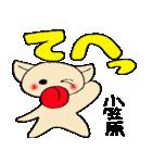 小笠原さんとみんなのスタンプ(個別スタンプ:20)
