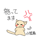 小笠原さんとみんなのスタンプ(個別スタンプ:24)