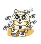 家族に優しいゆかいな猫メイちゃん2(個別スタンプ:13)