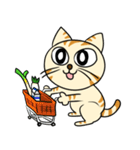 家族に優しいゆかいな猫メイちゃん2(個別スタンプ:16)