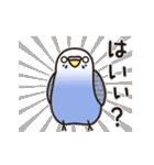 せきせいいんこ! [Ver6](動く・あいづちNo2(個別スタンプ:09)