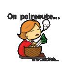 お気楽フランス語生活♪(個別スタンプ:38)