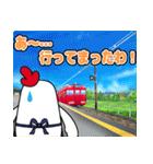 名鉄三河線でGO!(個別スタンプ:18)