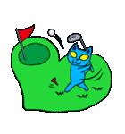 ねこちゅうじん ゴルフ編(個別スタンプ:06)
