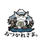 猫のダヤン メッセージスタンプ(個別スタンプ:01)
