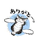 猫のダヤン メッセージスタンプ(個別スタンプ:02)