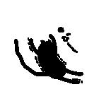 黒猫1号(個別スタンプ:25)