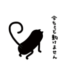 黒猫1号(個別スタンプ:31)