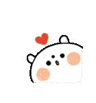 ちょこっと敬語の白クマさん♪(個別スタンプ:23)